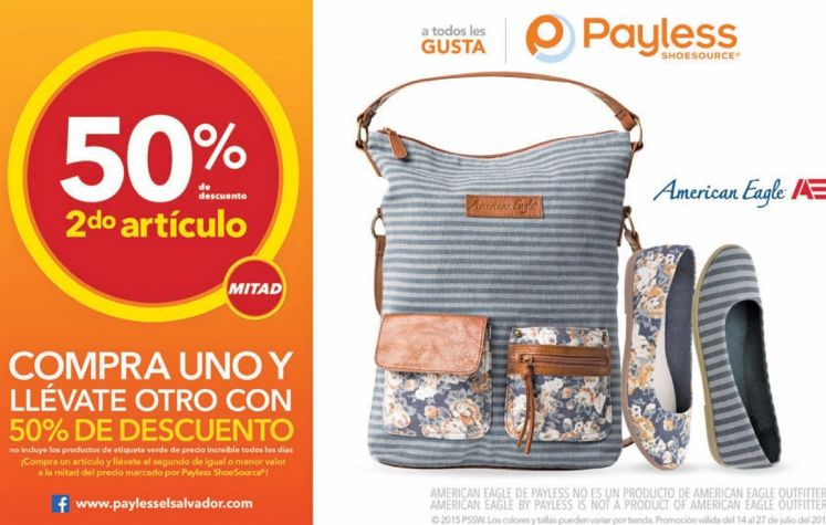 Sandals and flat shoes 50 OFF gracias a PAYLESS