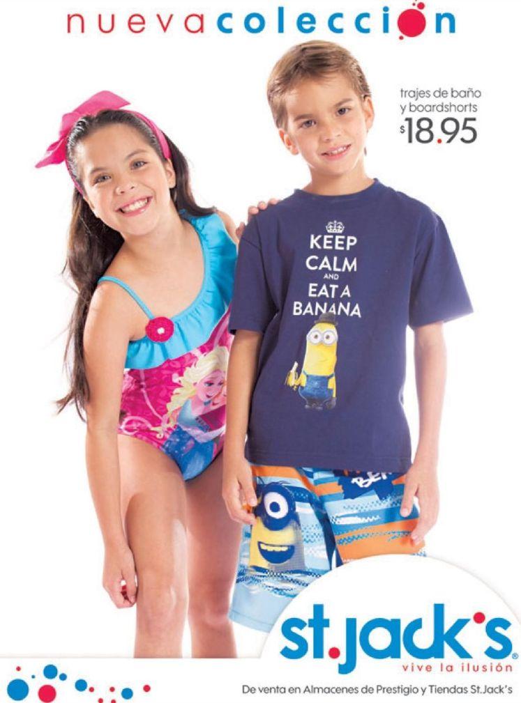 St jacks KIDS apparel wear MINIONS series