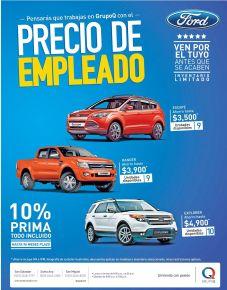 Trucks and pick ups con precio de empleado GRUPO Q - 06jul15