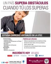 UTEC carreras virtuales online 2015