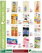 arroz aceite pan leche TODA la canasta basica selectos - 13jul15