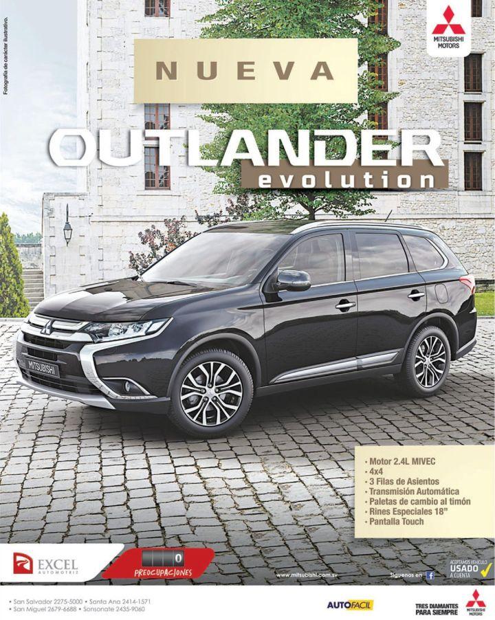 car deals MITSUBISHI outlander 4x4 2.4 motor MIVEC