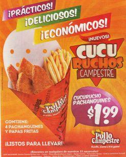 new CUCU RUCHOS campestre ricos y practicos desde 1.99 dolares