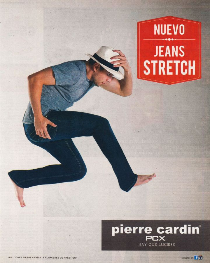 new JEANS stretch by pierre cardin PCX look