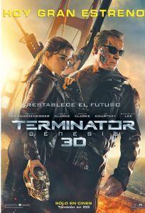 today Restable el futuro PREMIER Terminator genesis 3D