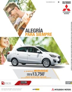 CAR DEALS mitsubishi irage 2015