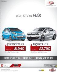 Compra tu auto nuevo KIA picando o KIA Rio EX
