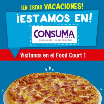 DOMINOS PIZZA en consia 2015