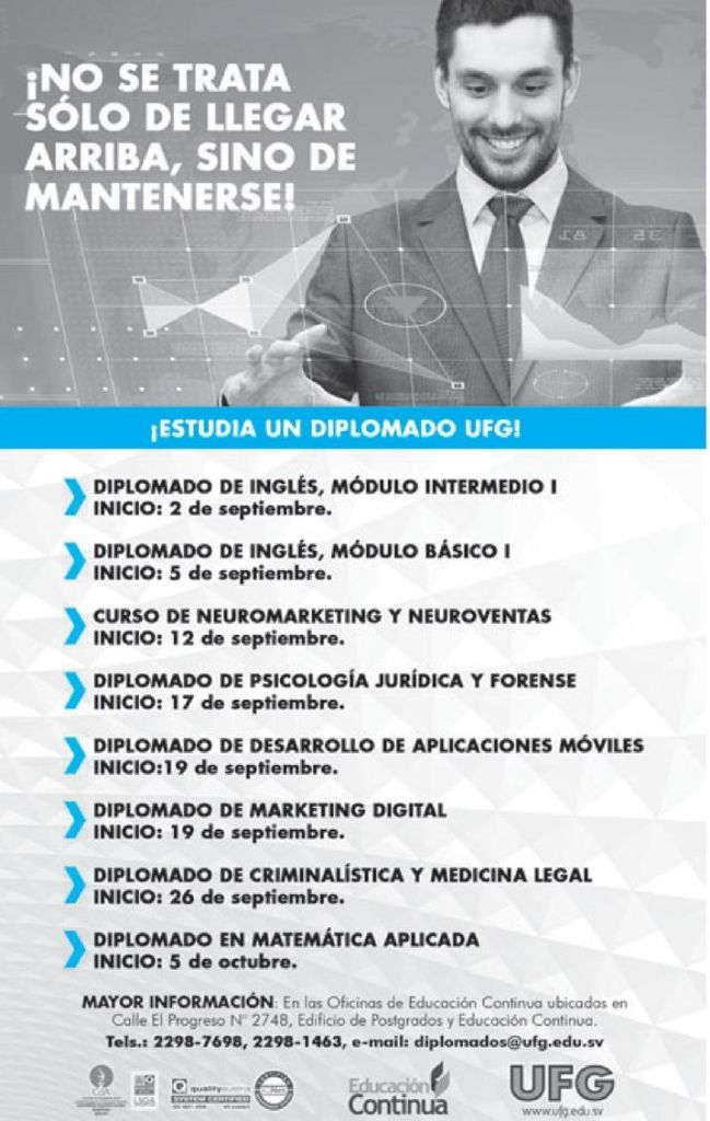 Diplomados profesional ingles marketing neuro ventas app development criminalistica y matematica
