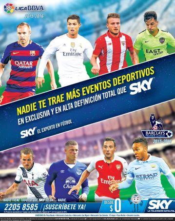 Eventos deportivos mundiales SKY satellite television
