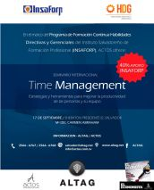 INternational seminar TIME MANAGEMENT strategy and tool better productivity