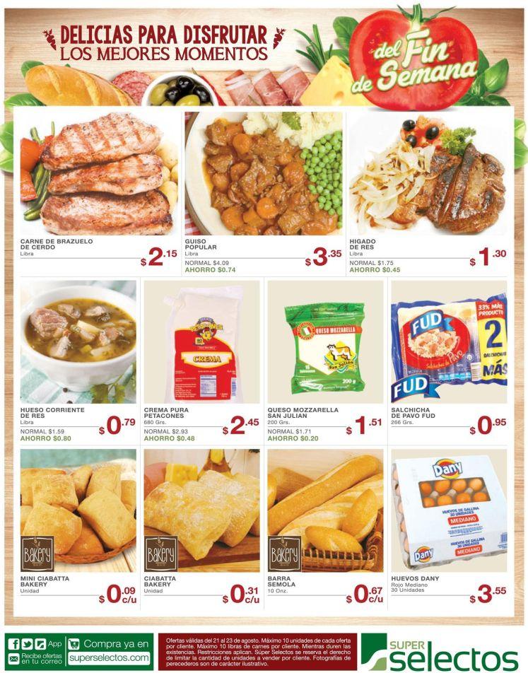 La mejores delicias del super selectos en oferta - 21ago15