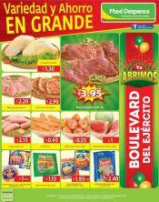 MAXI despensa supermercado llenos de variedad y ahorro - 14ago15