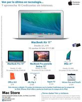 MacBook AIR pantalla 11 pulgadas