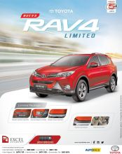 New RAV 4 limited package auto deals savings