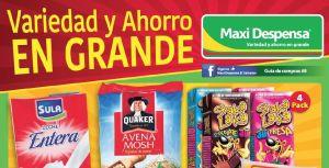 Ofertas de la Guia de compras 8 MAXI Despensa sv - agosto 2015