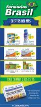 Ofertas del mes en FARMACIAS BRASIL