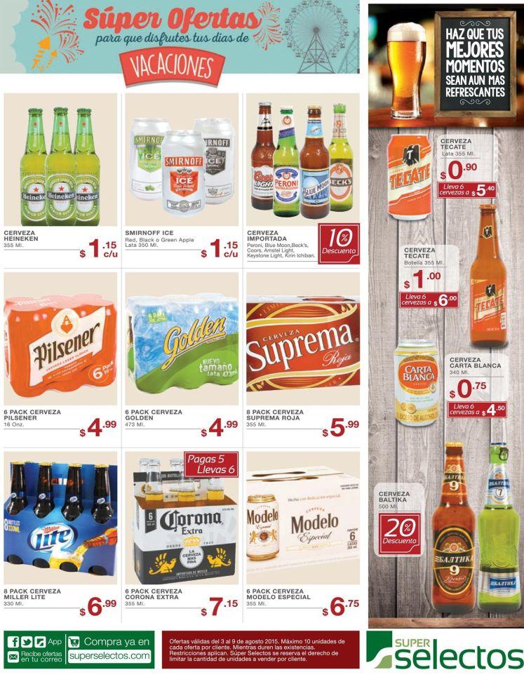 Ofertas y Promociones en variedad de cervezas - 03ago15