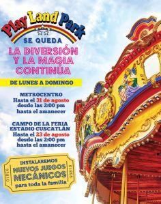 Play Land Park diversion y magia en juegos mecanicos