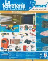 Quieres materiales metalicos para construccion FREUND promociones - 31ago15