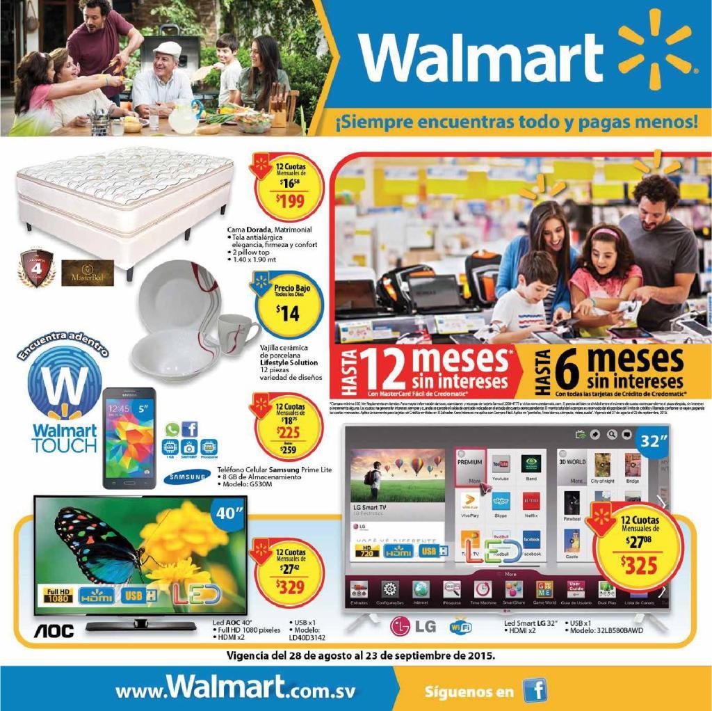 WALMART touch catalog september 2015