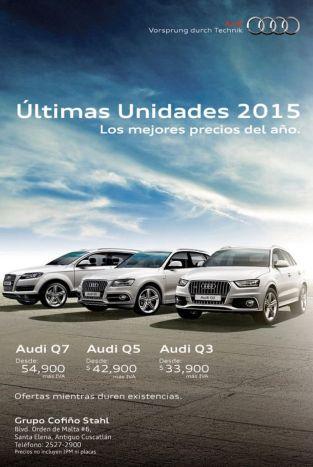 premium cars AUDI 2015 series