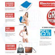 Almohadas de confort Respaldos anatomicos FAjas modeladoras carteras y portafolios