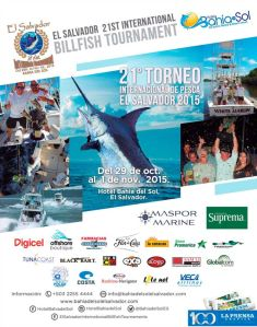 BILLFISH Tournament el salvador 2015 Bahia del Sol beach resort