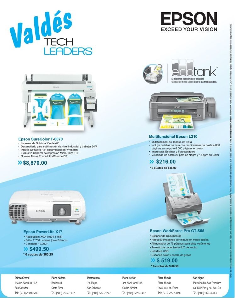 Electronic devices for homes or offices