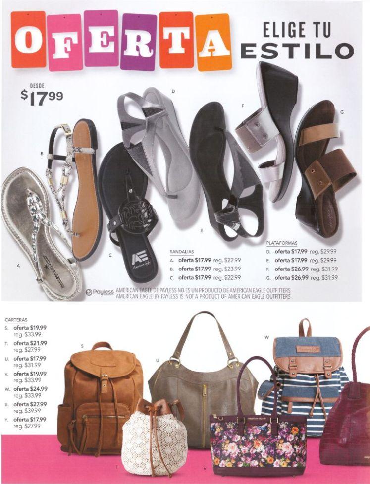Eleige tu estilo de calzado de moda y carteras PAYLESS