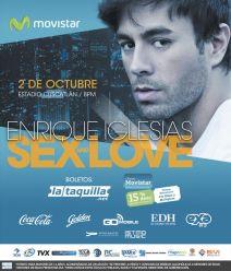 Entradas para concierto de ENRRIQUE IGLESIAS el salvador octubre 2015