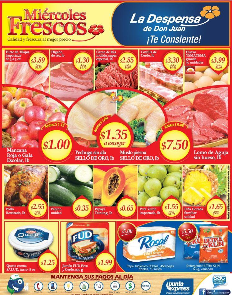 Las mejores promociones en super mercados de miercoles - 16sep15