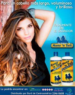 MANE n TAIL shampoo Producto para un cabello ma slargo y voluminoso y brilloso