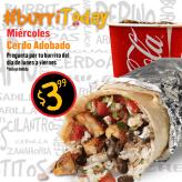 Mil Burritos TODAY miercoles CERDO adobado
