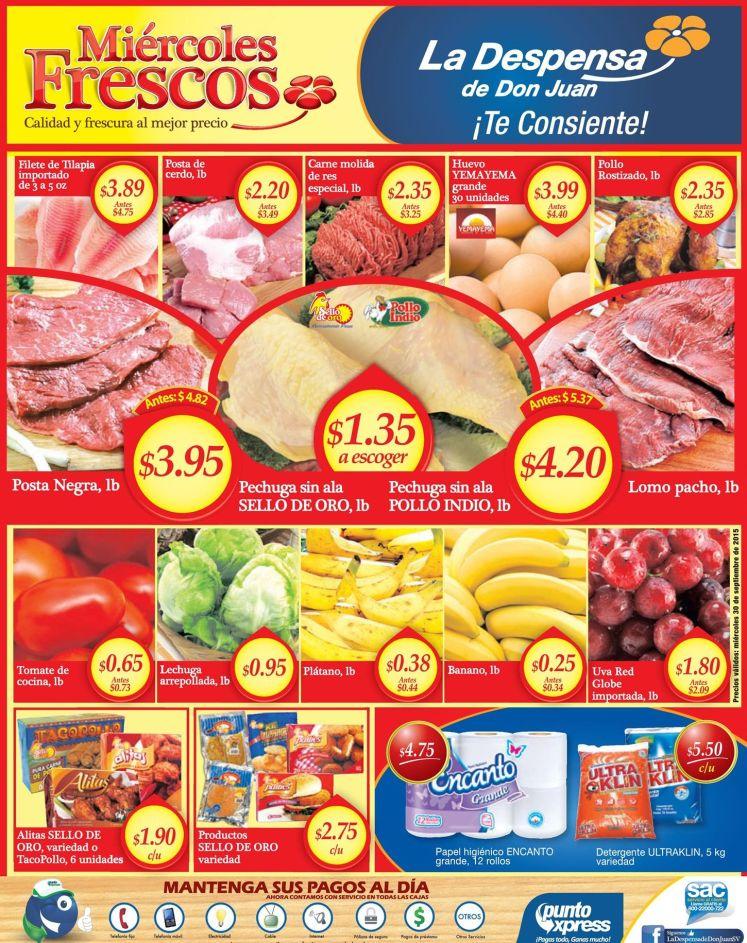 No busques MAS aqui estan las mejores ofertas de super para hoy miercoles - 30sep15