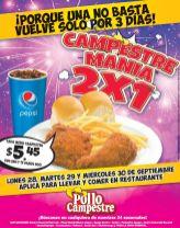 TErmina el mes de septiembre con la CAMPESTRE MANIA 2x1 por solo 5-45 de dolar - 28sep15