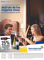 WINES sale week 25 oFF con banco agricola y DIPRISA