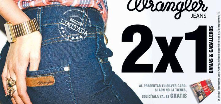WRANGLER jeans 2x1 promotions ladies and gentlemans