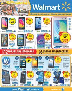 WaLmart tiene el celular android que quieras al mejor PRECIO - 19sep15