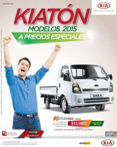 autos KIA trucks models 2015 con precios especiales - 08sep15