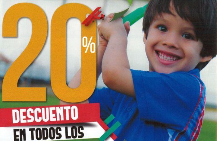 descuentos en juguetes por el dia internacional del niño