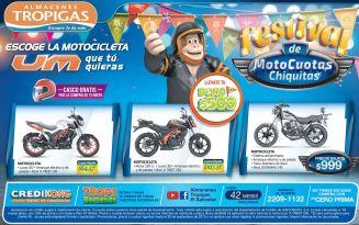 festival de cuotas chuiquitas para comprar tu MOTO UM