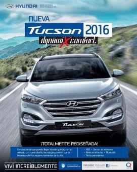 new suv car TUCSON 2016 dynami x comfort