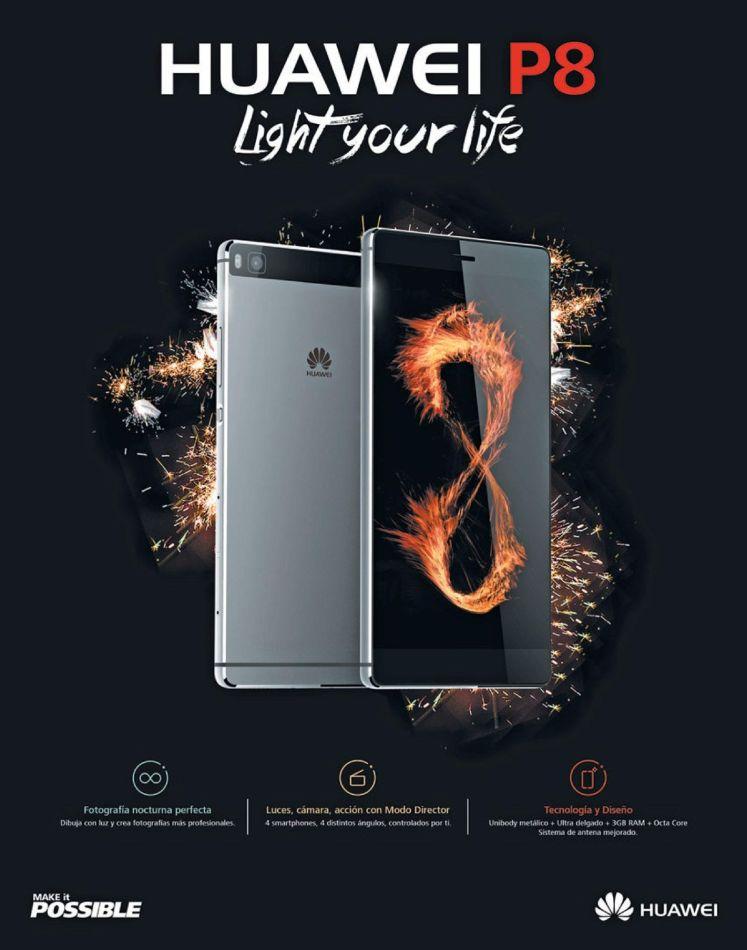 nice smartphone HUAWEI P8