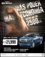 pick up ISUZU D-max es poder y mas economia