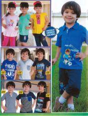variedad de conjuntos para niños y niñas