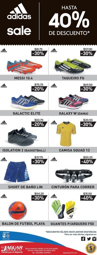 Adidas SALE descuentos en calzado deportivos e indumentaria