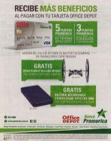 Beneficios de descuento con banco promerica en OFFICE DEPOT - 02oct15