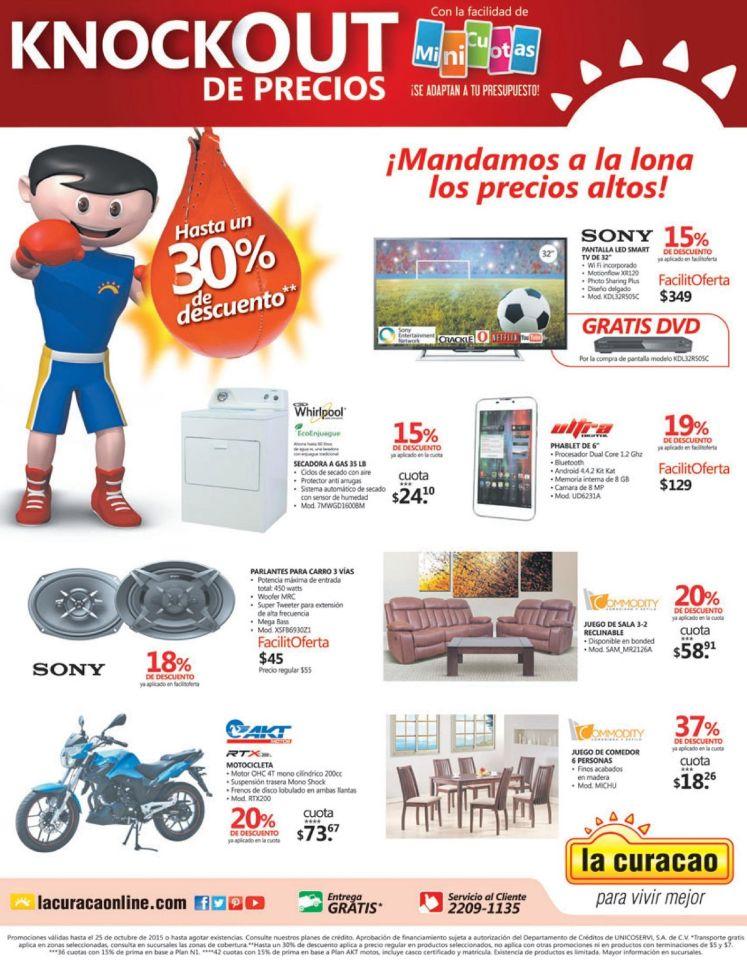 Busca este Fin de semana con precios en la lona LA CURACAO - 24oct15