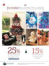 Comienza a comprar articulos de navidad 2015 con descuentos CRESIMAN